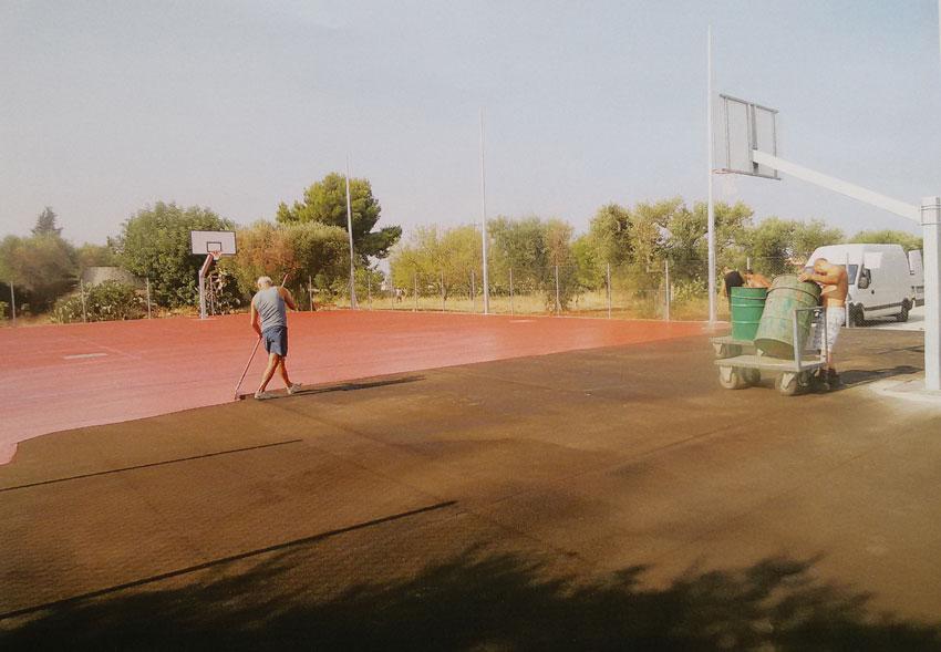 Costruzione campi da basket