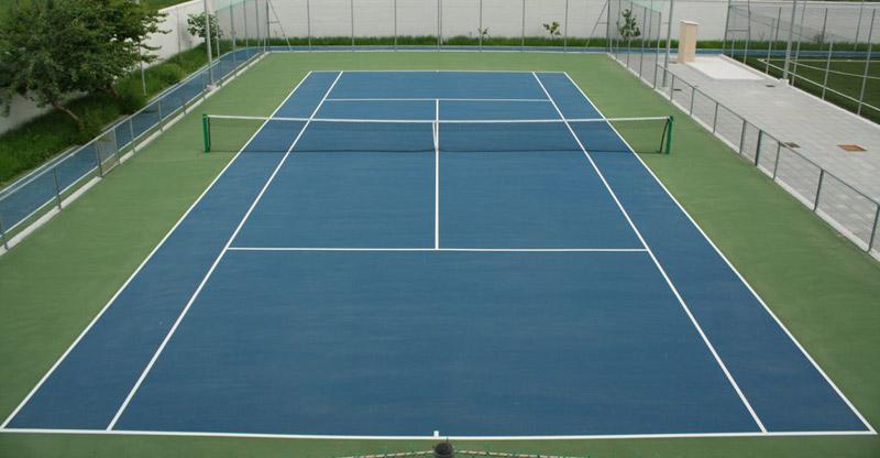Costruzione campi tennis