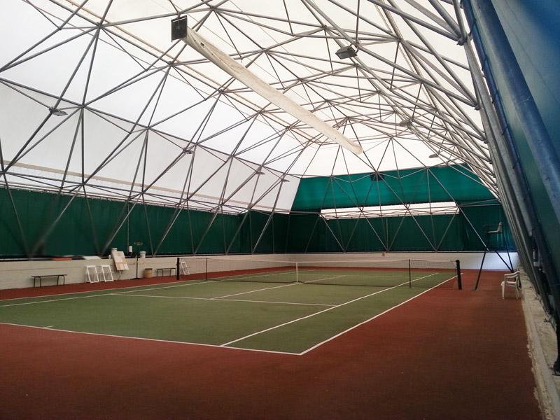 Copertura Geodetica campi tennis
