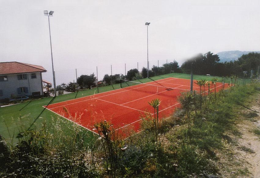 Realizzazione campi da tennis