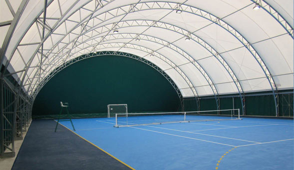 Tensostrutture campi tennis