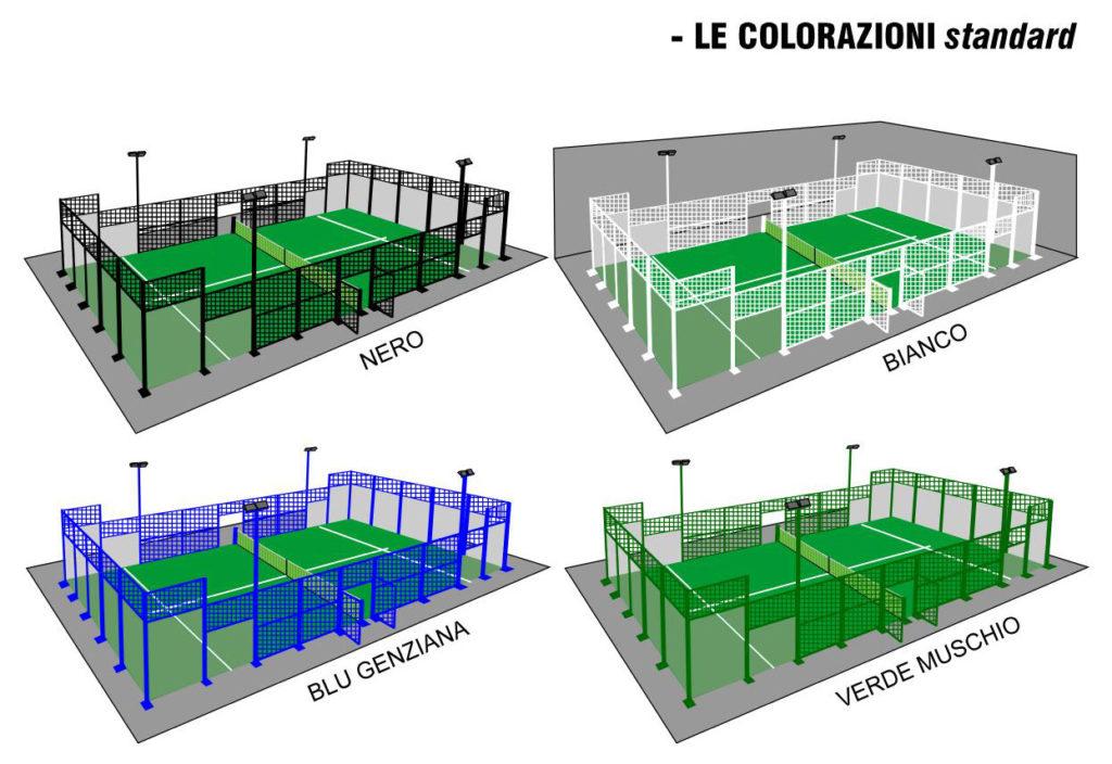 campi da gioco paddle Lecce