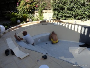 Costruzione di una piscina Turisport